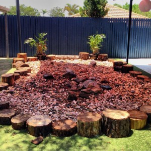 Mooloolaba Child Care Dry creek bed